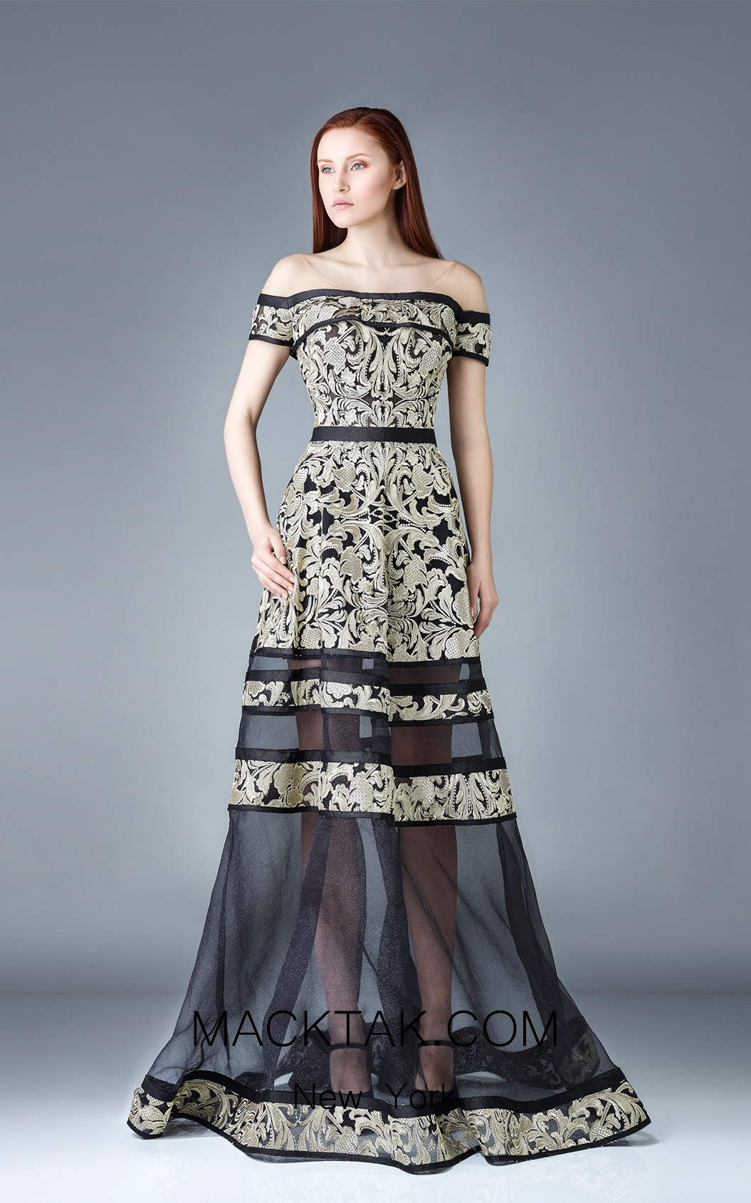 Beside Couture by Gemy Maalouf BC1193 Front Dress