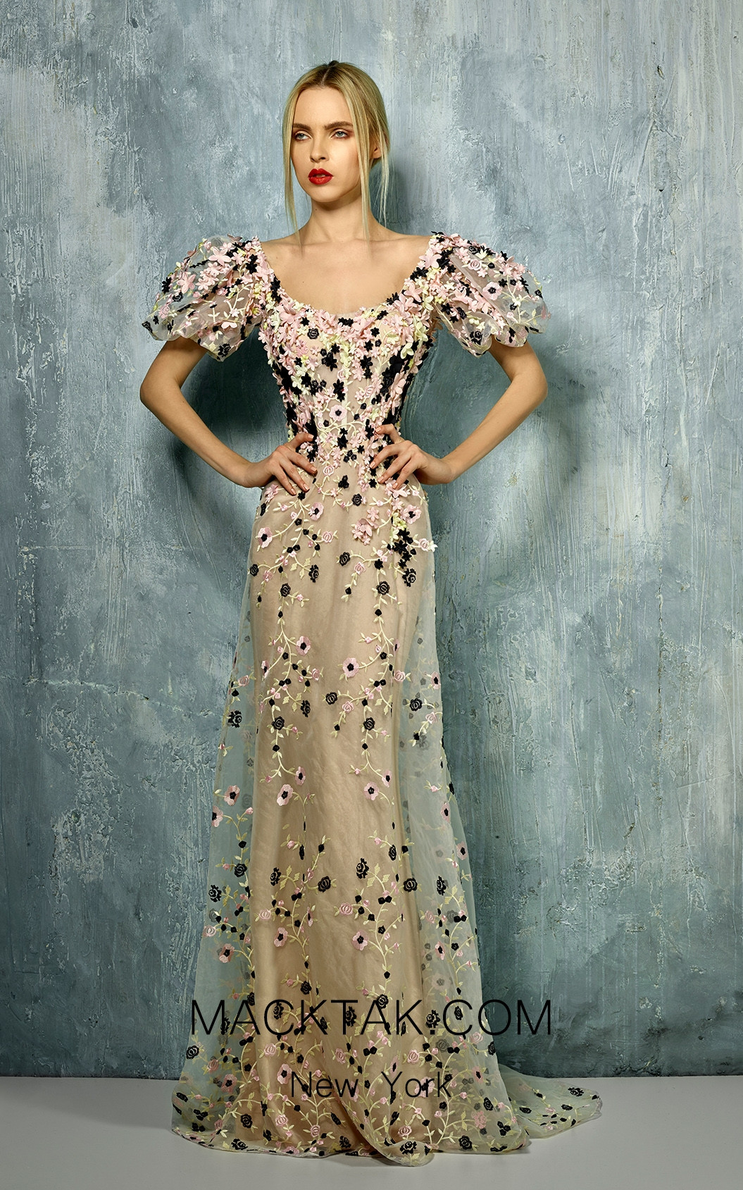 Beside Couture by Gemy Maalouf BC1254 Front Dress