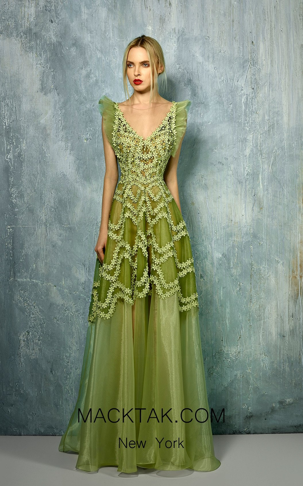 Beside Couture by Gemy Maalouf BC1256 Front Dress