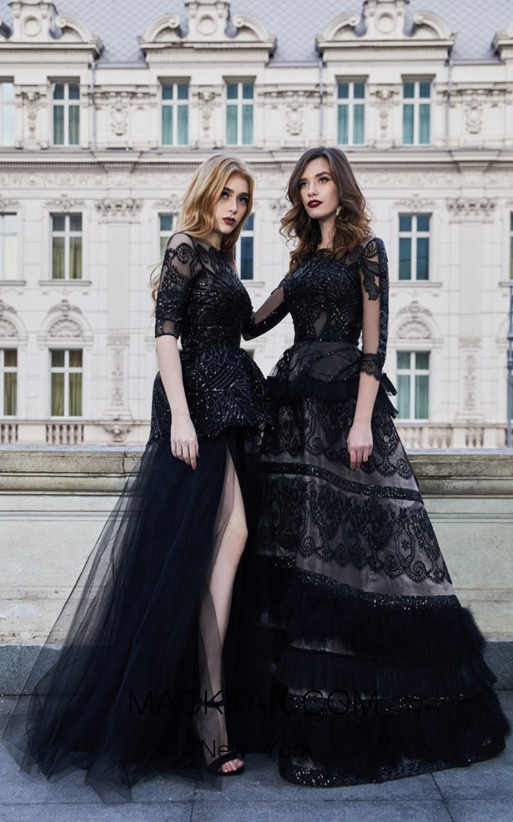 Cristallini SKA957 Front Evening Dress