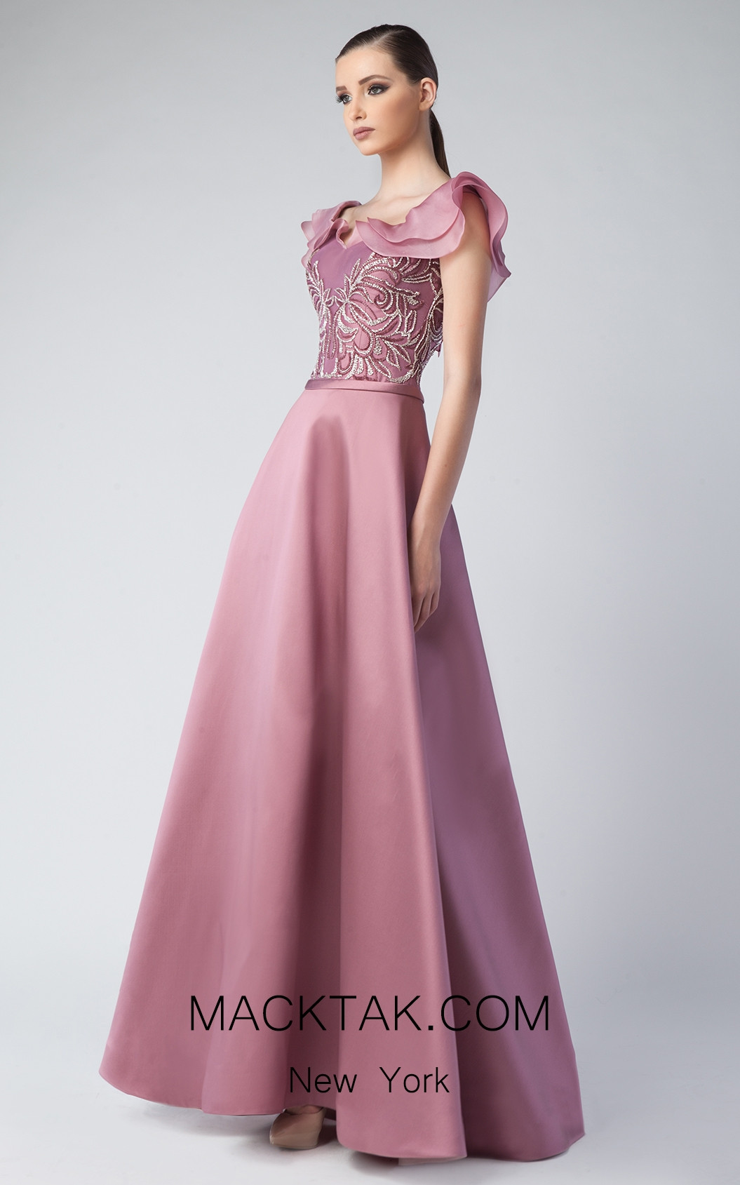 Edward Arsouni FW0251 Malve Front Dress