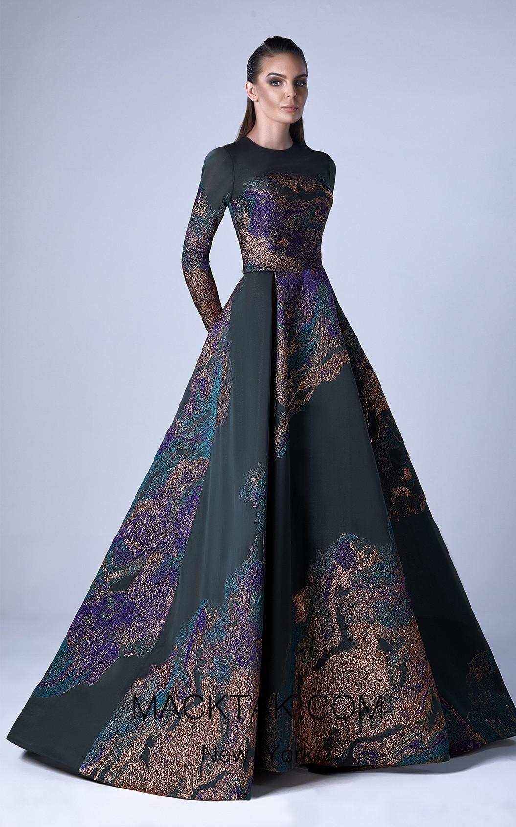 Edward Arsouni 0419 Front Evening Dress