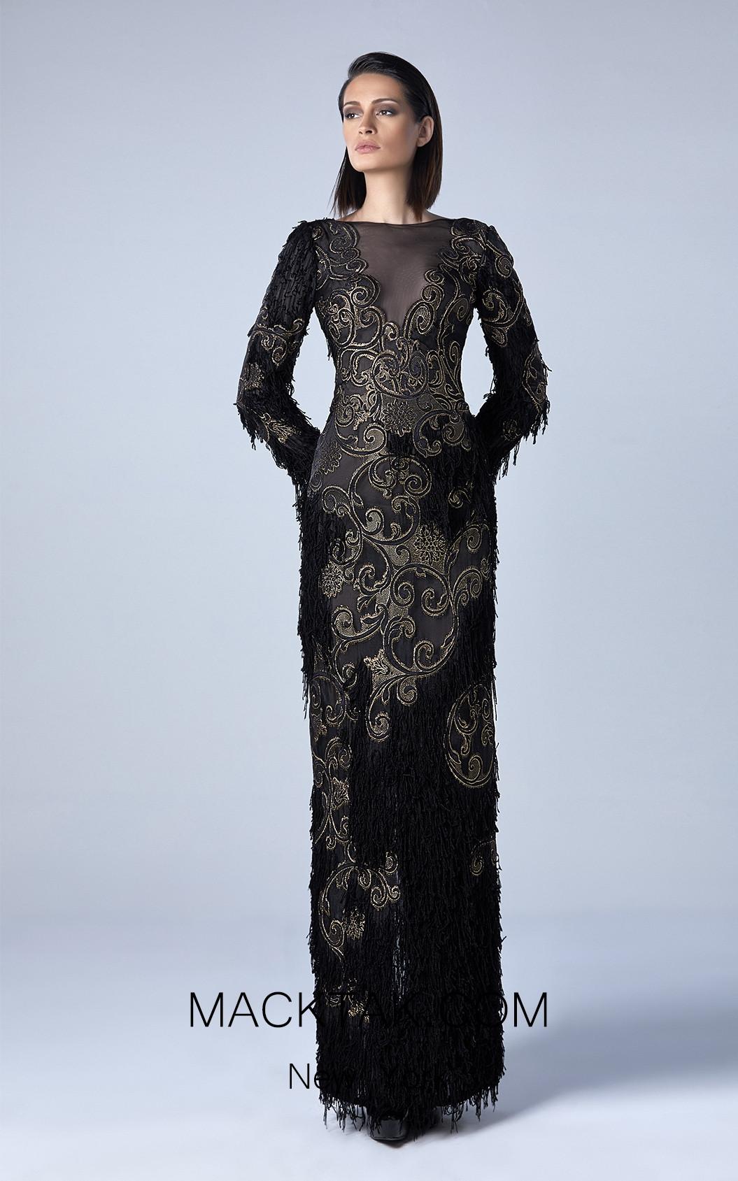 Edward Arsouni 0429 Front Evening Dress