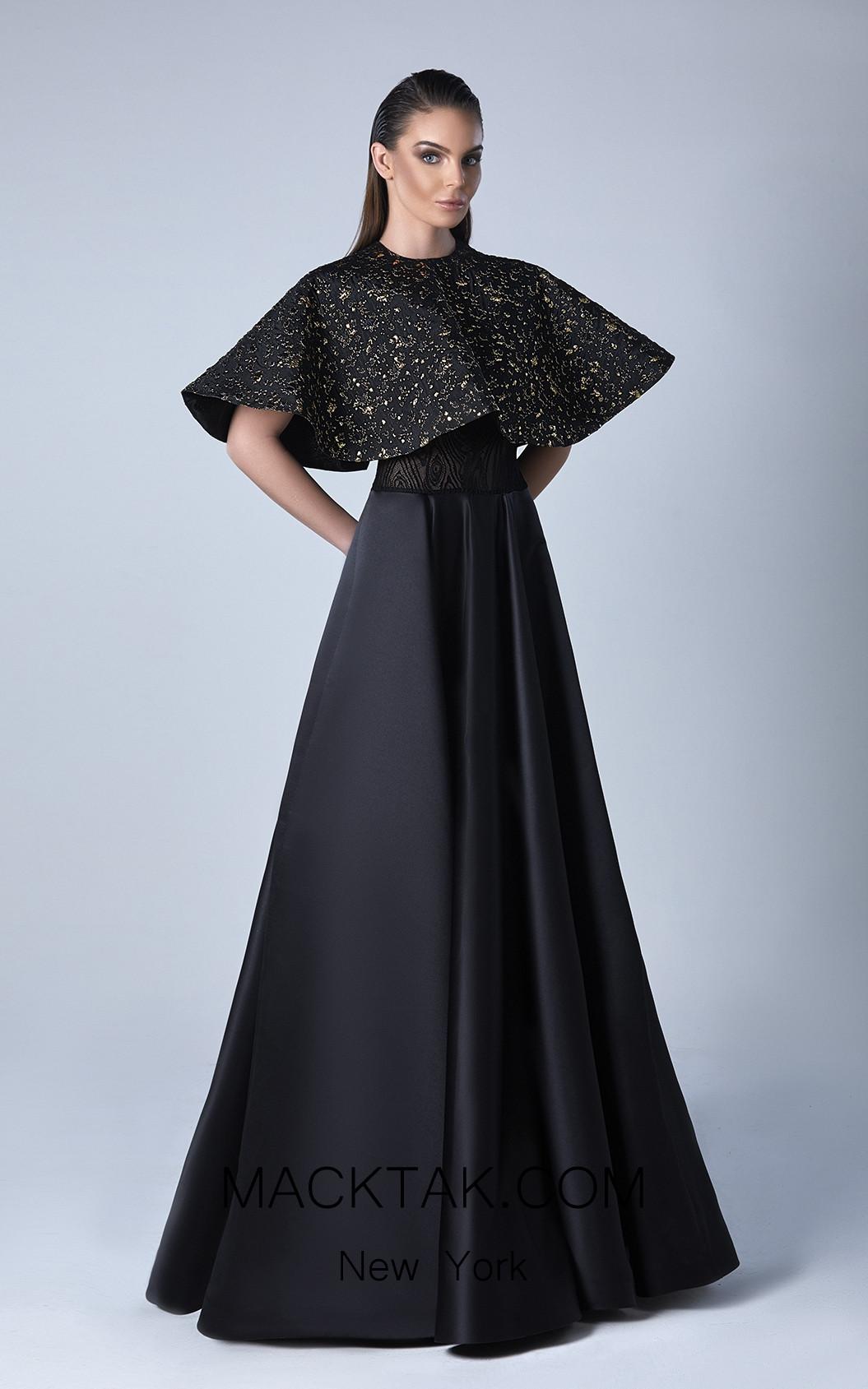 Edward Arsouni 0445 Front Evening Dress