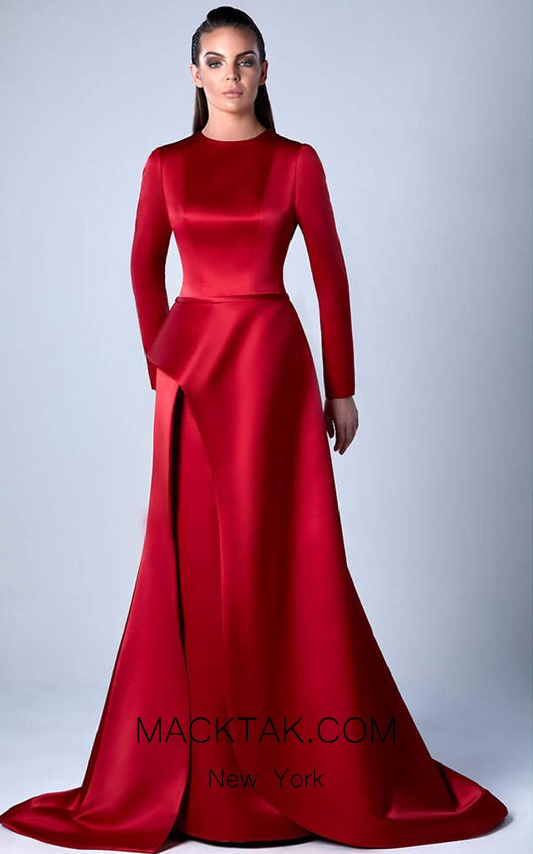 Edward Arsouni 0451 Front Evening Dress