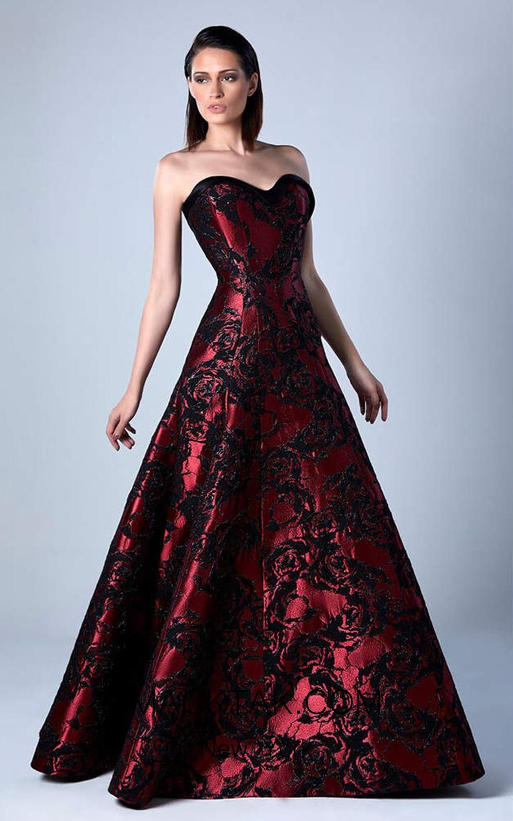Edward Arsouni 0452 Front Evening Dress