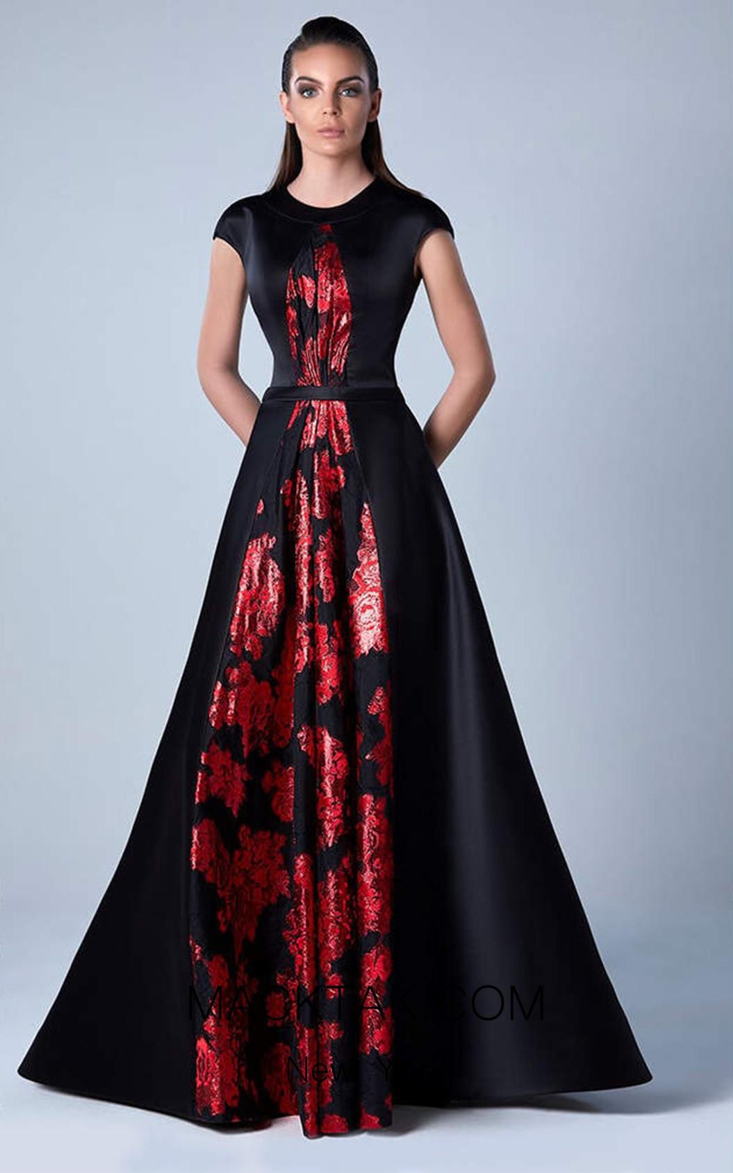 Edward Arsouni 0457 Front Evening Dress