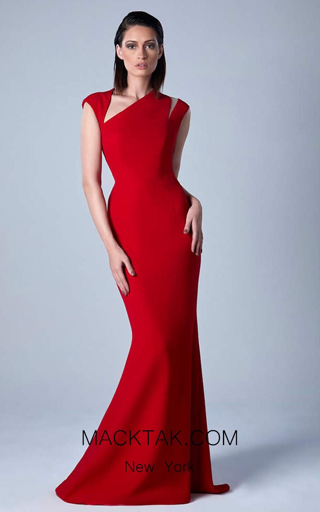 Edward Arsouni 0458 Front Evening Dress
