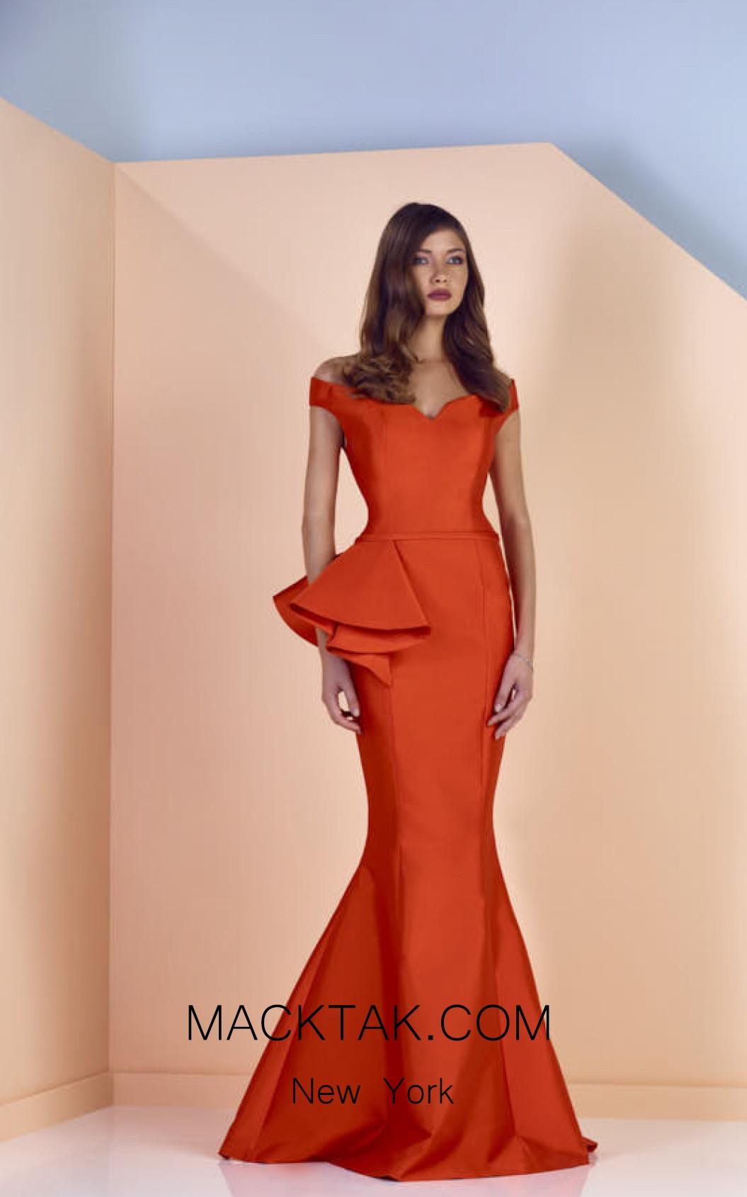 Edward Arsouni SS0119 Front Evening Dress