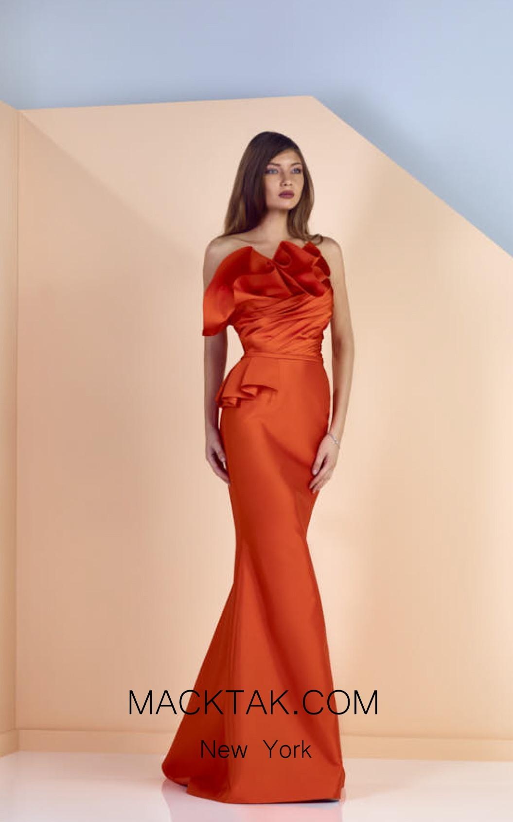 Edward Arsouni SS0125 Front Evening Dress