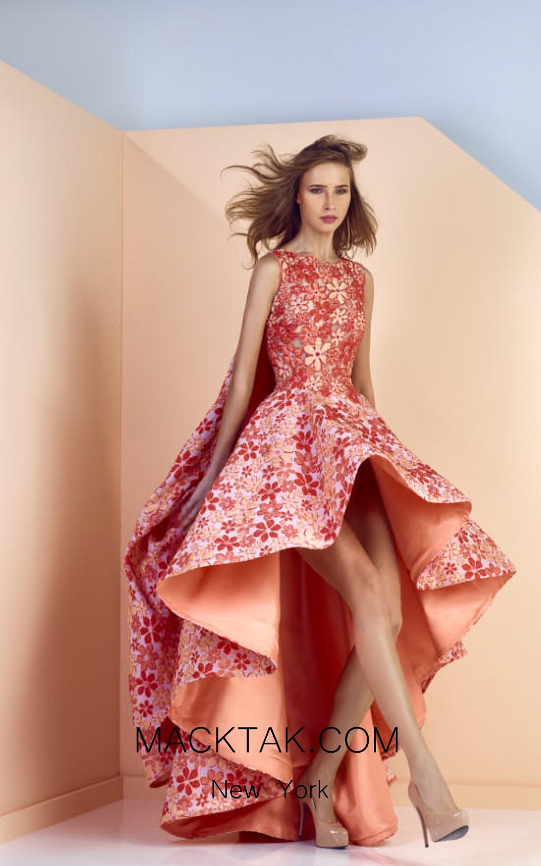Edward Arsouni SS0126 Front Evening Dress