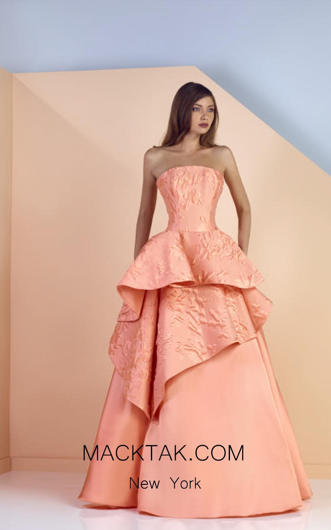 Edward Arsouni SS0133 Front Evening Dress