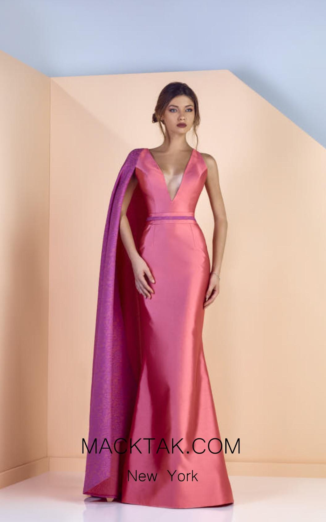 Edward Arsouni SS0137 Front Evening Dress