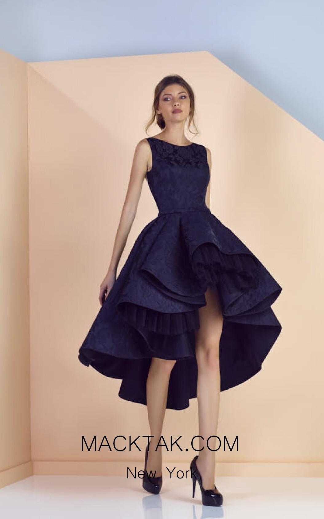 Edward Arsouni SS0156 Front Evening Dress