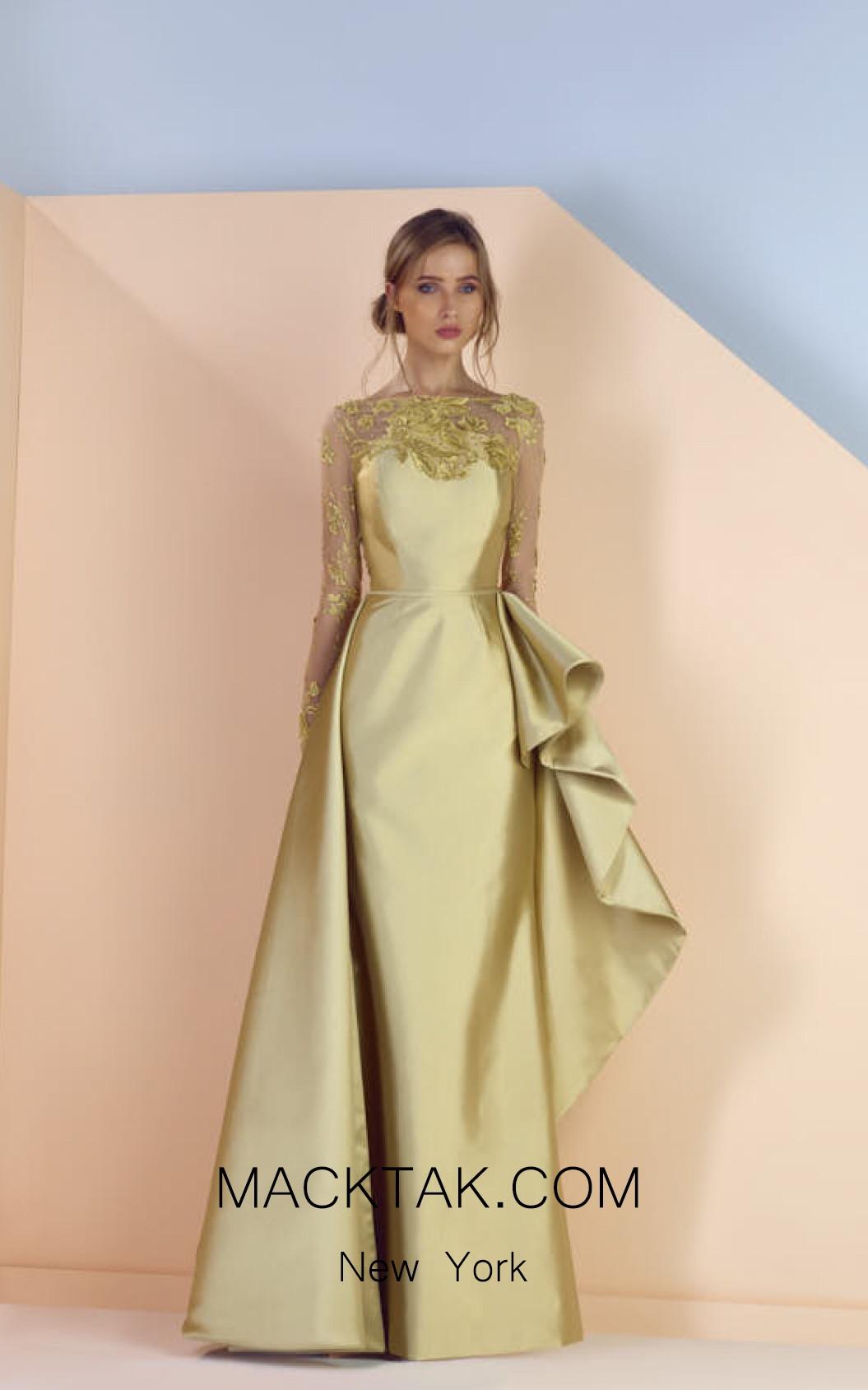 Edward Arsouni SS0167 Front Evening Dress