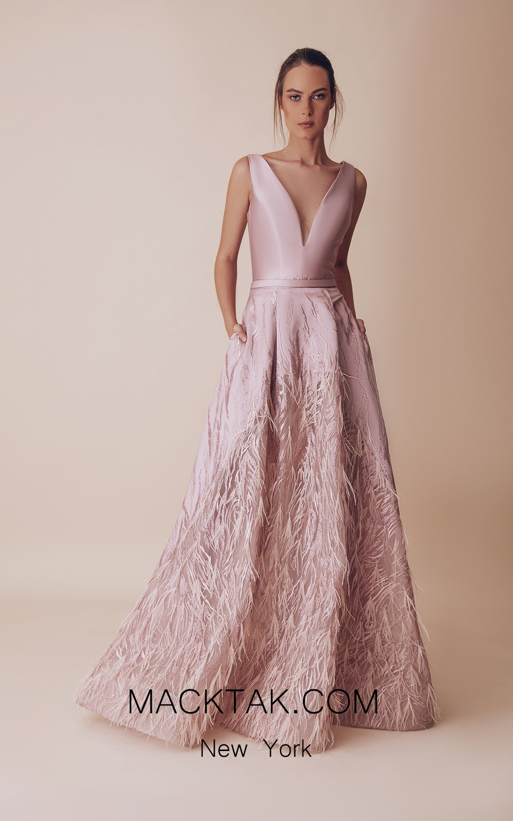 Gatti Nolli 4966 Optimum Design Front Evening Dress
