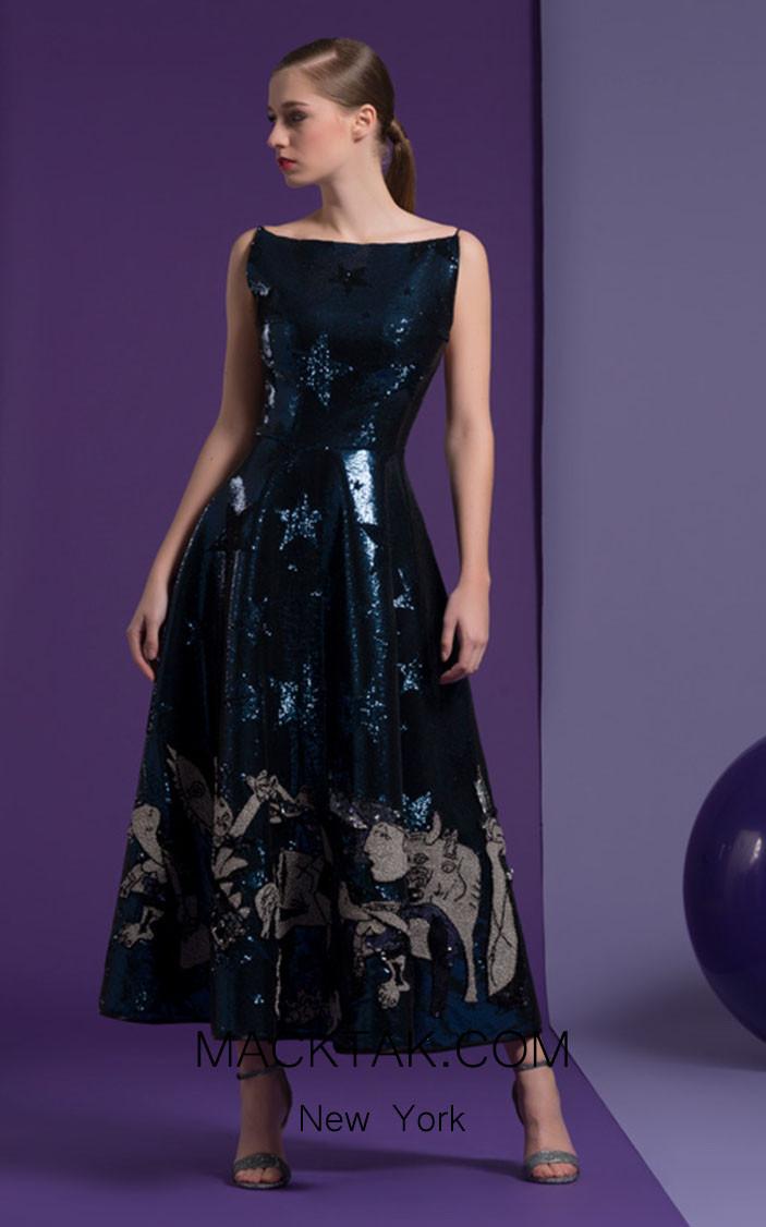 Isabel Sanchis Claudine 97 Front Dress