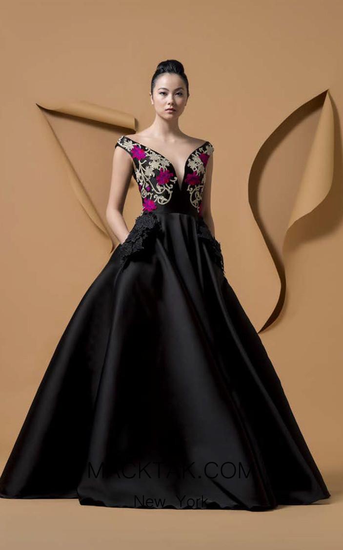 Isabel Sanchis Tomoporo Front Dress