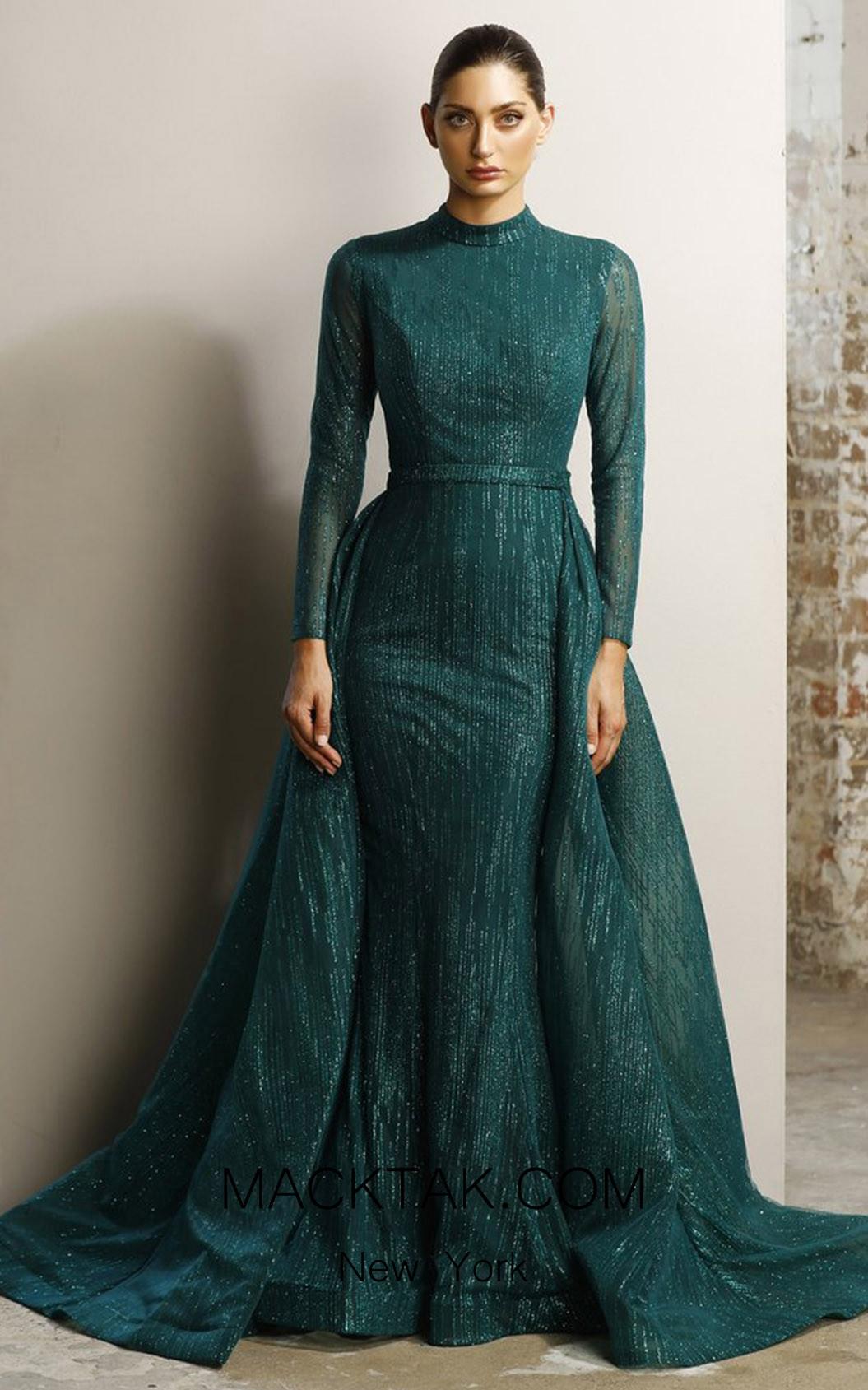Jadore JX1117 Emerald Dress