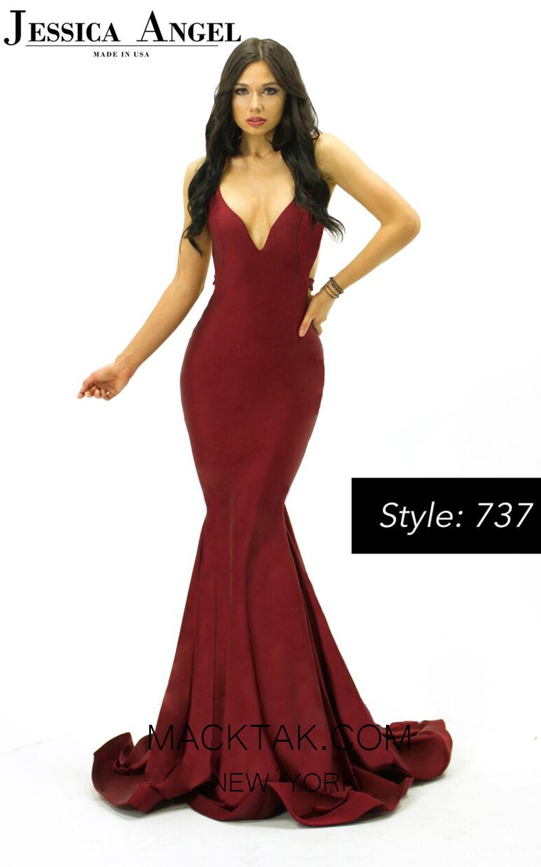 Jessica Angel 737 Front Dress
