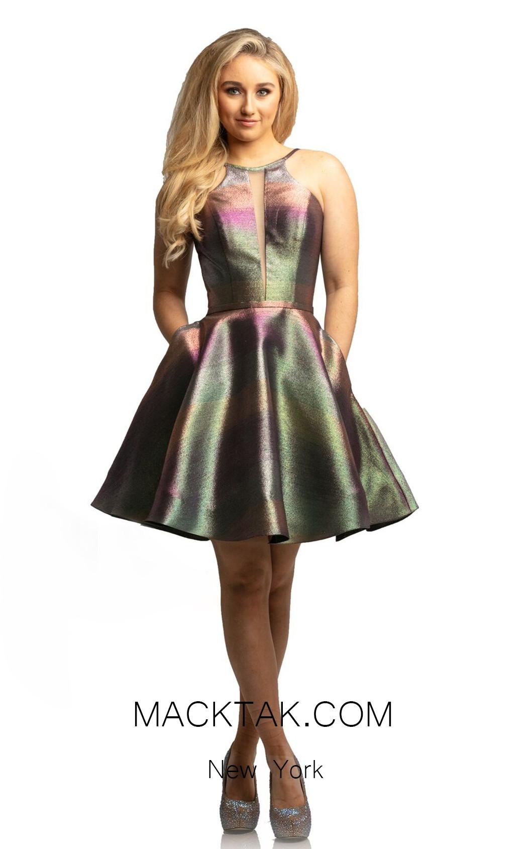 Johnathan Kayne 9210 Unicorn Ombre Front Dress