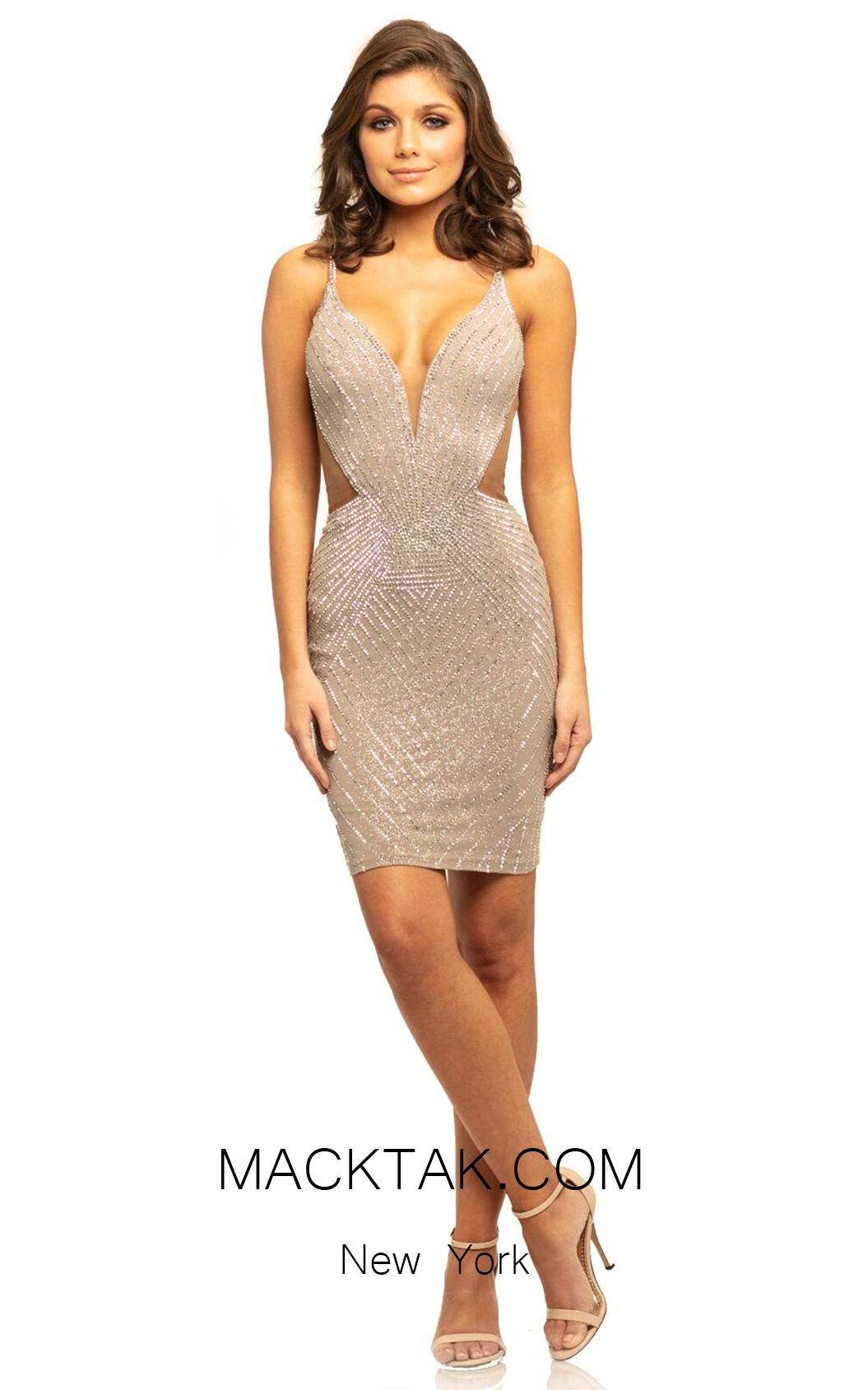 Johnathan Kayne 9211 Stone Front Dress