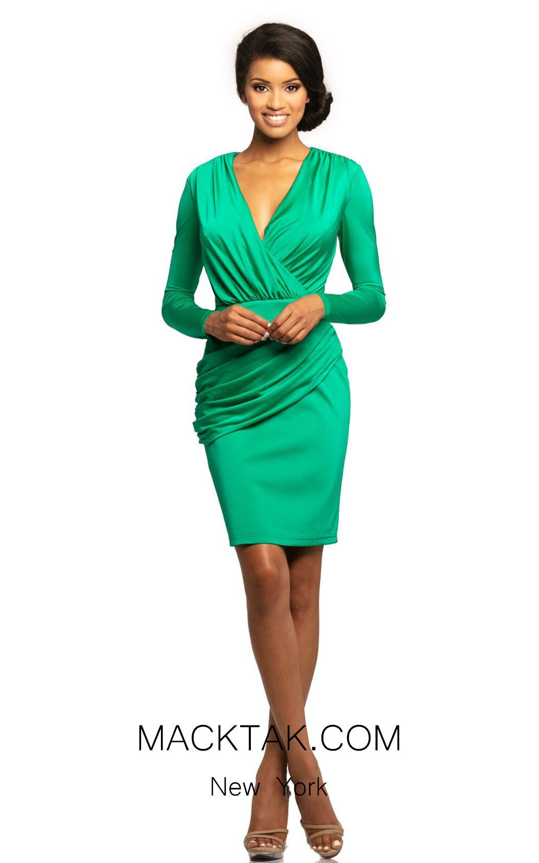 Johnathan Kayne 2058 Jade Front Dress