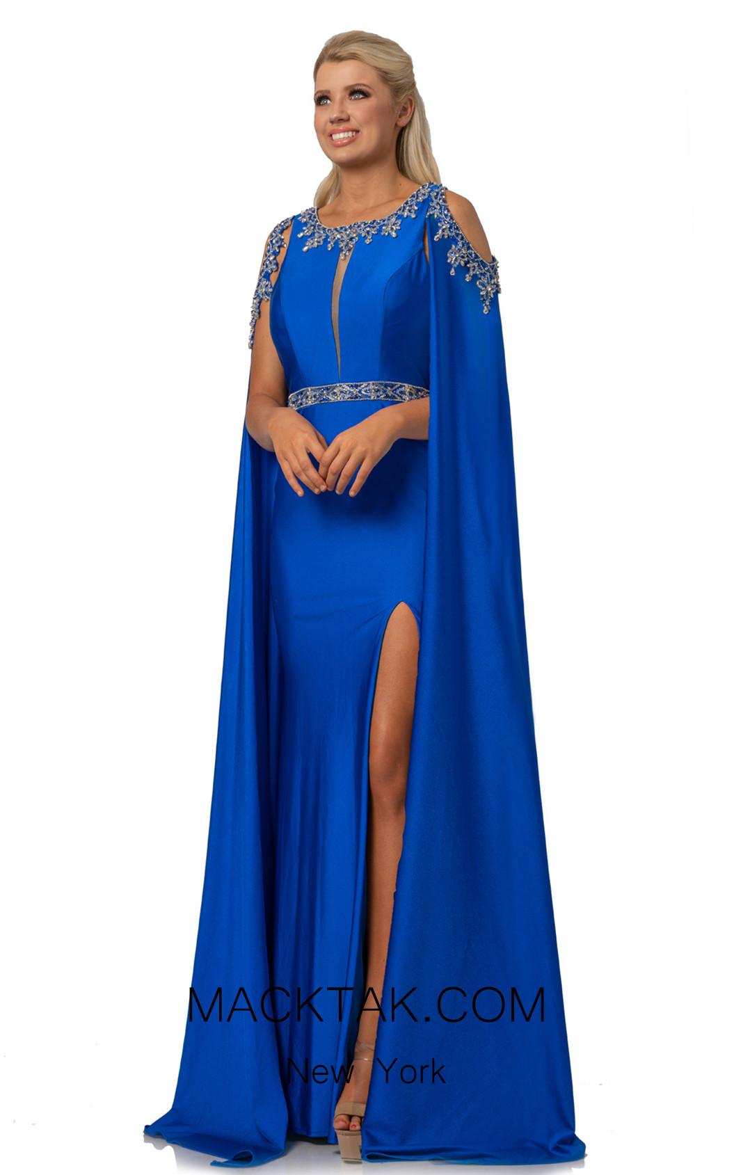 Johnathan Kayne 2075 Royal Front Dress