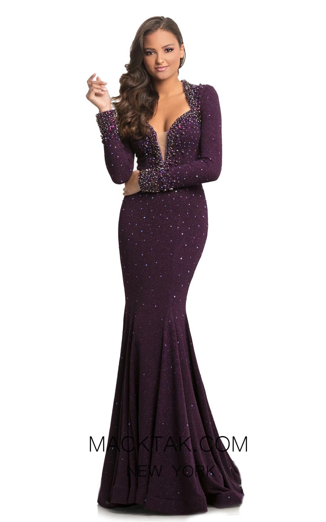 Johnathan Kayne 9029 Amethyst Front Dress