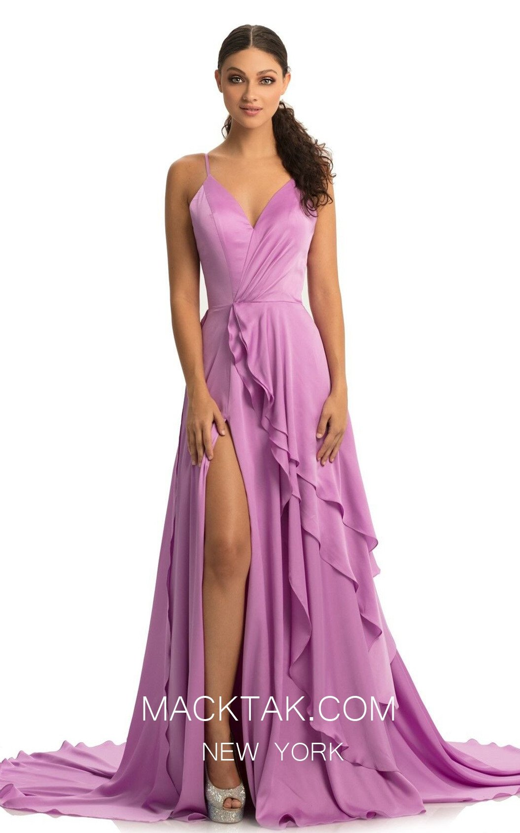 Johnathan Kayne 9033 Orchid Front Dress