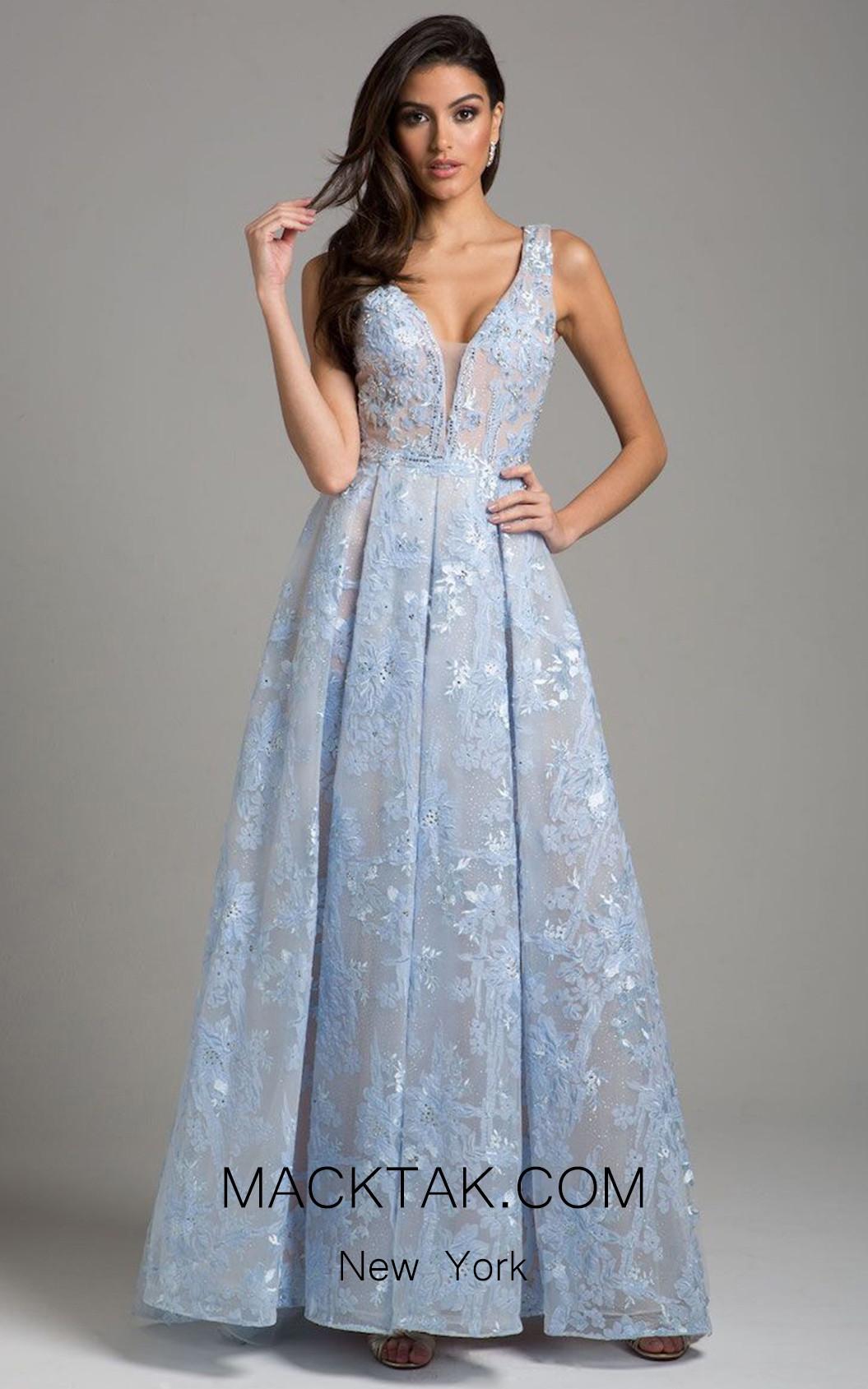 Lara 29964 Light Blue Front Dress