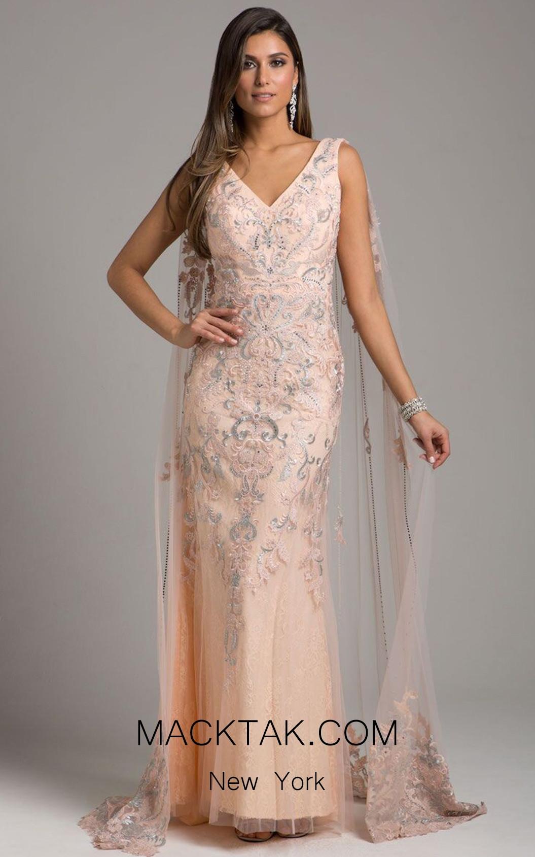 Lara 29969 Blush Front Dress