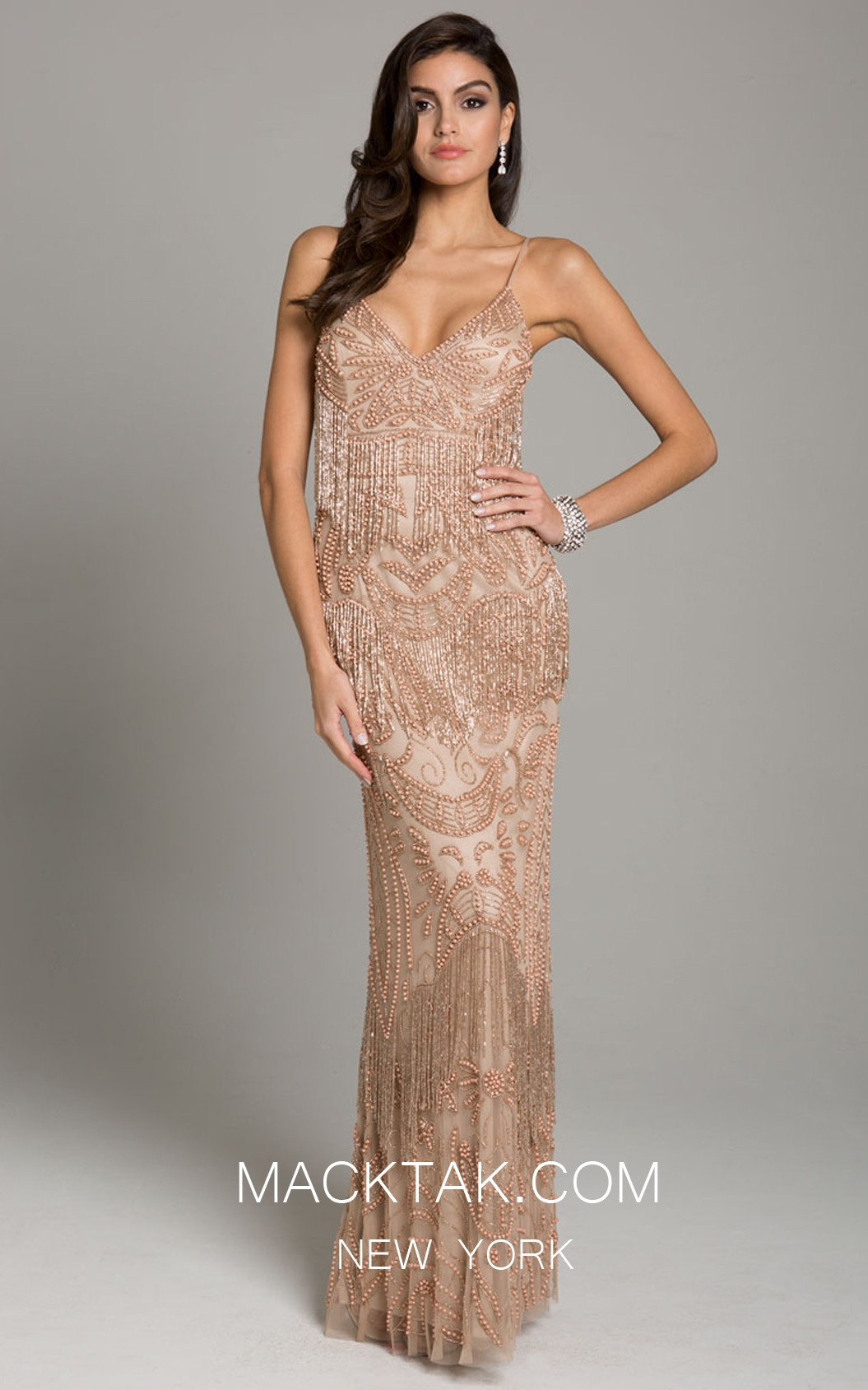 Lara 29897 Rose Gold Front Dress