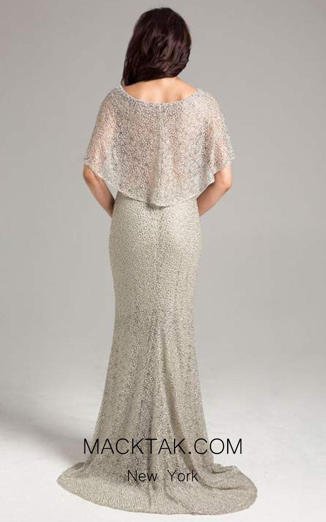 Lara 32935 Grey Back Dress