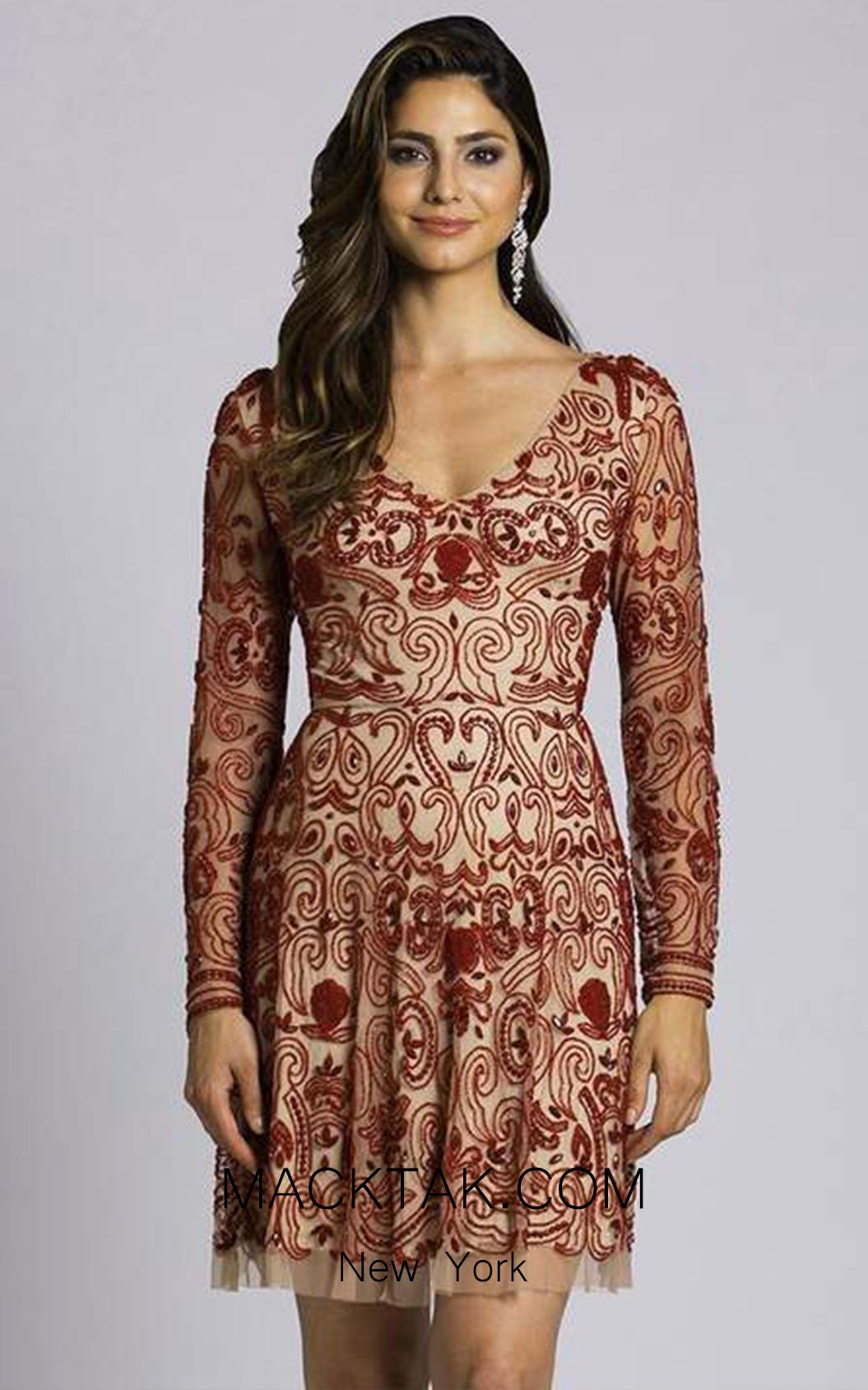 Lara 33414 Front Dress