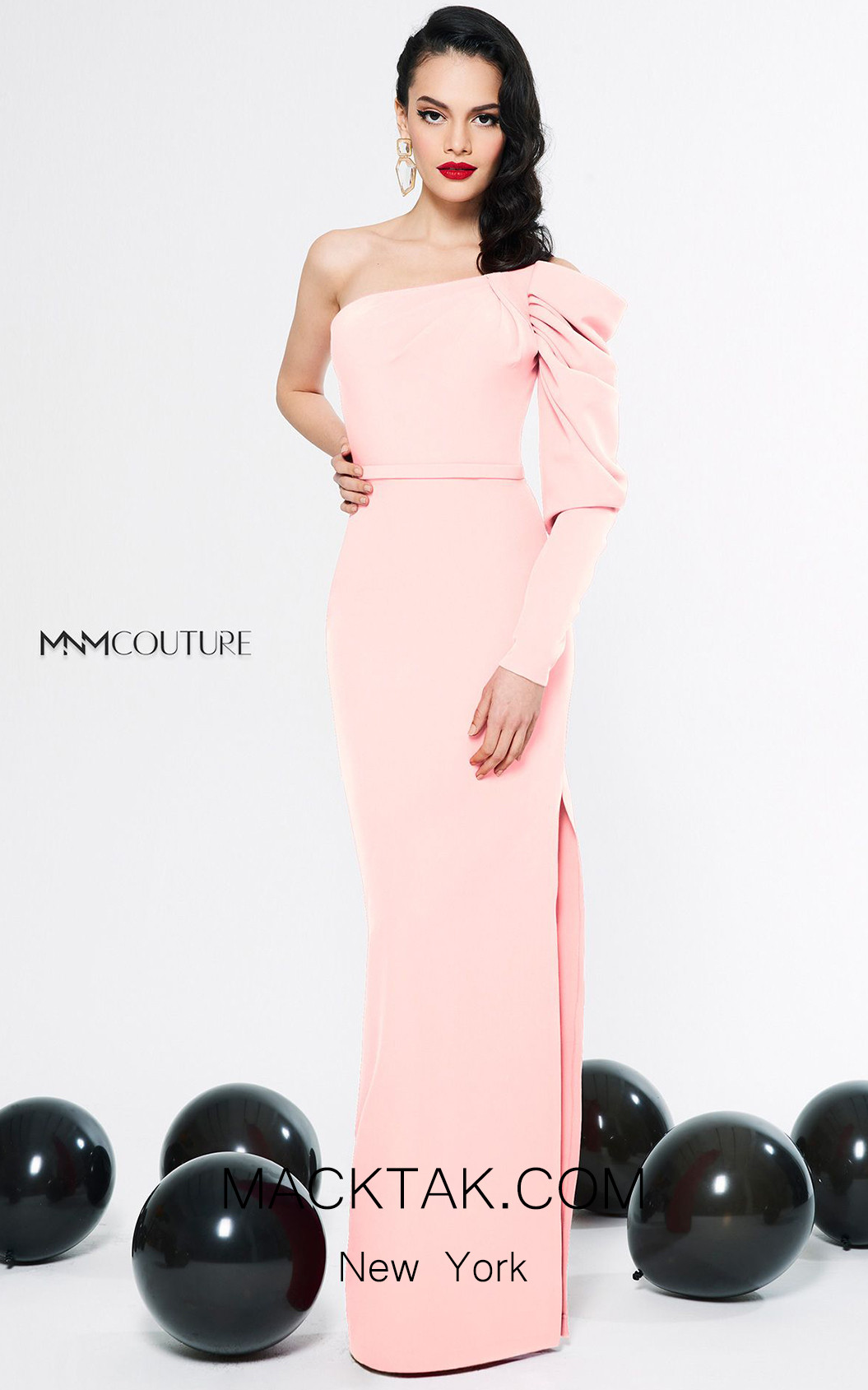 MNM Couture N0312 Pudra Front Dress