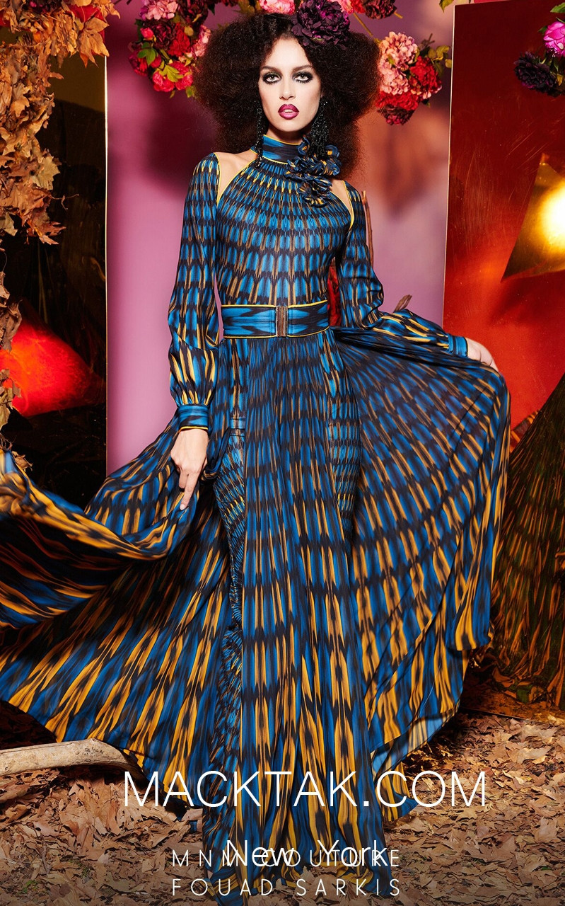 MNM 2480 Front Evening Dress