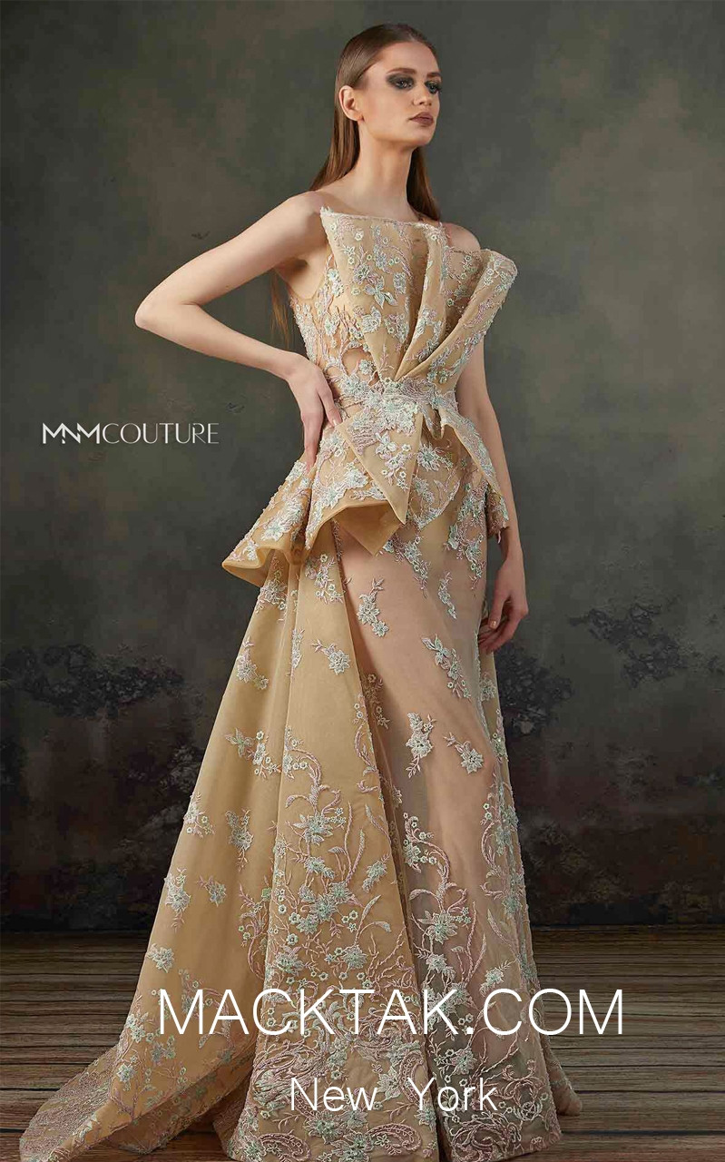 MNM K3708 Front Evening Dress
