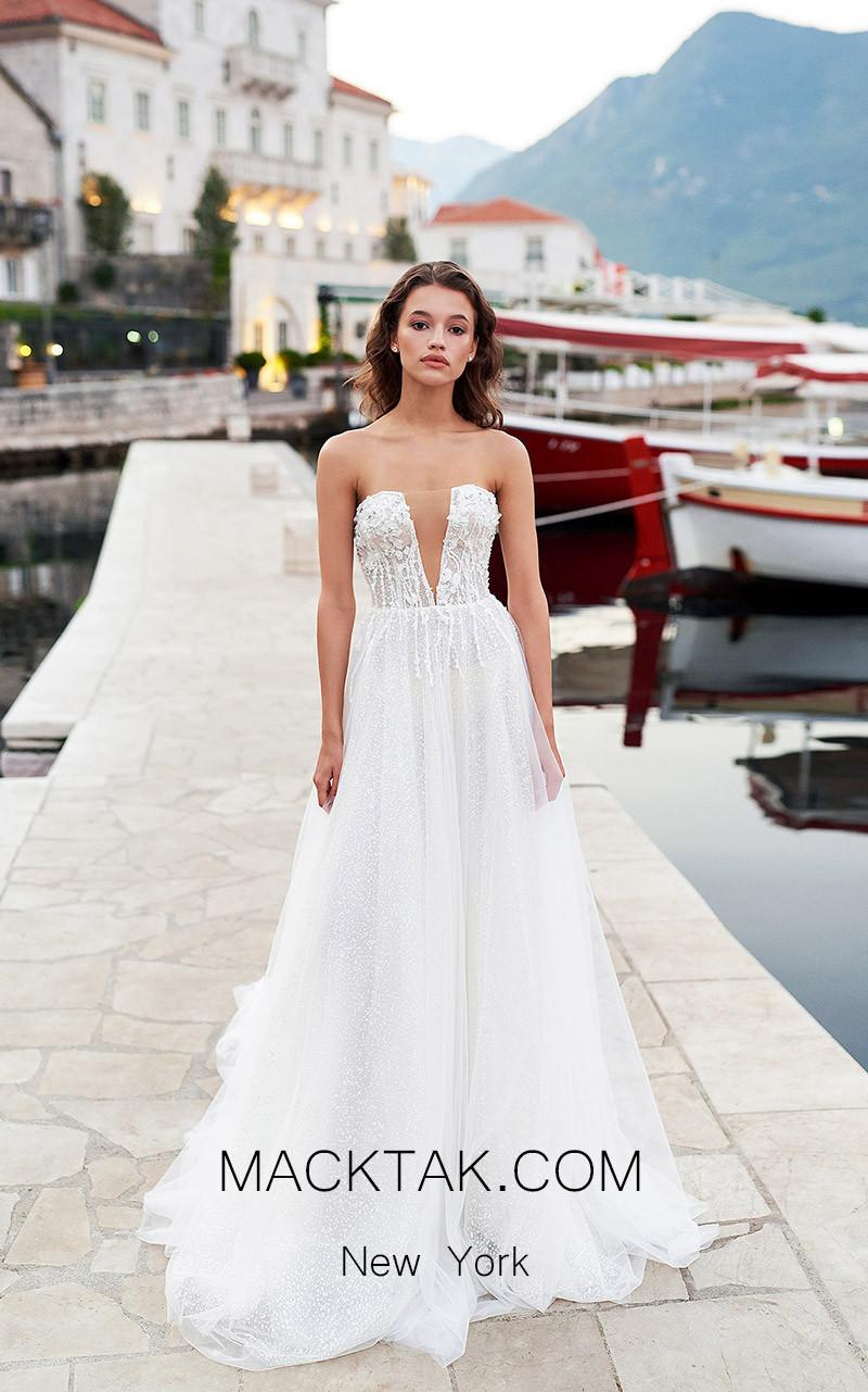 Pollardi Brooke Front Dress