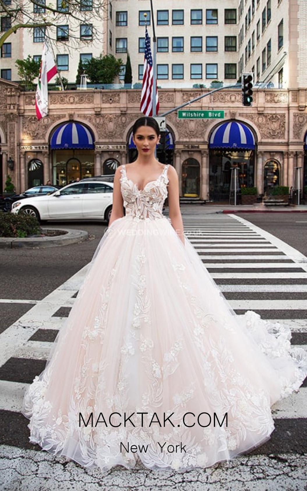 Pollardi Penelope Front White Dress