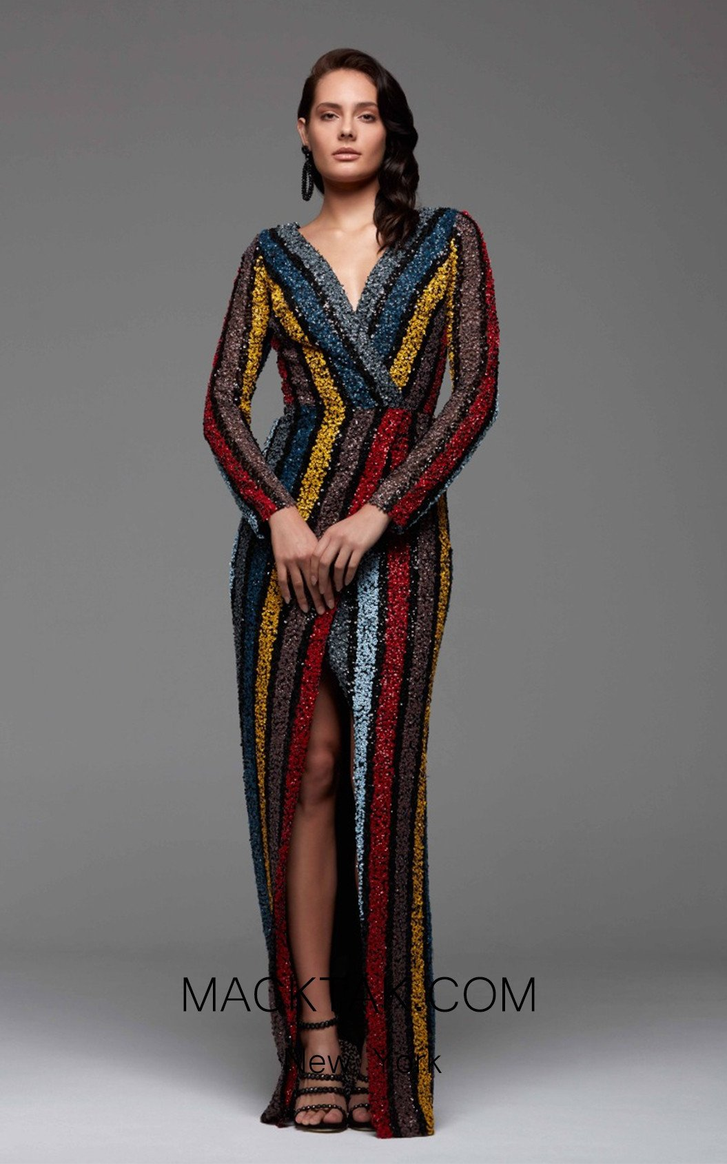 Rengin 5458 Front Dress