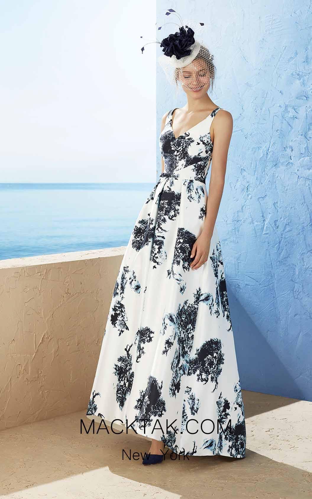Rosa Clara Marfil 3J189 Front Dress
