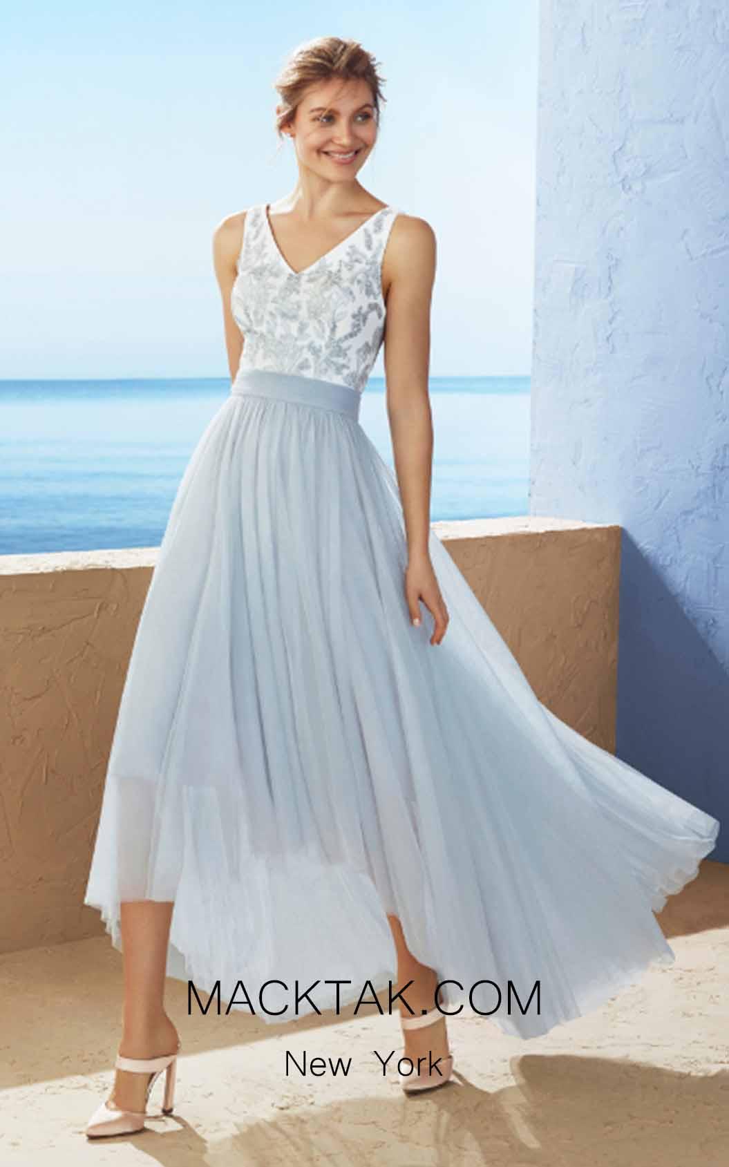 Rosa Clara Marfil 3J2F2 Front Dress