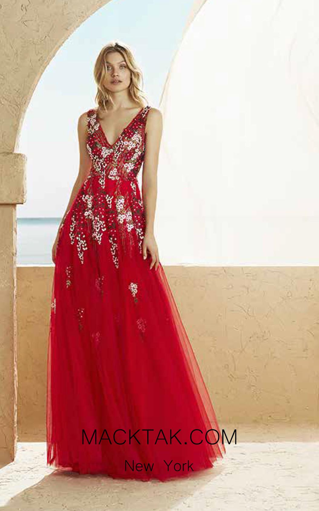 Rosa Clara Marfil 3J2F5 Front Dress