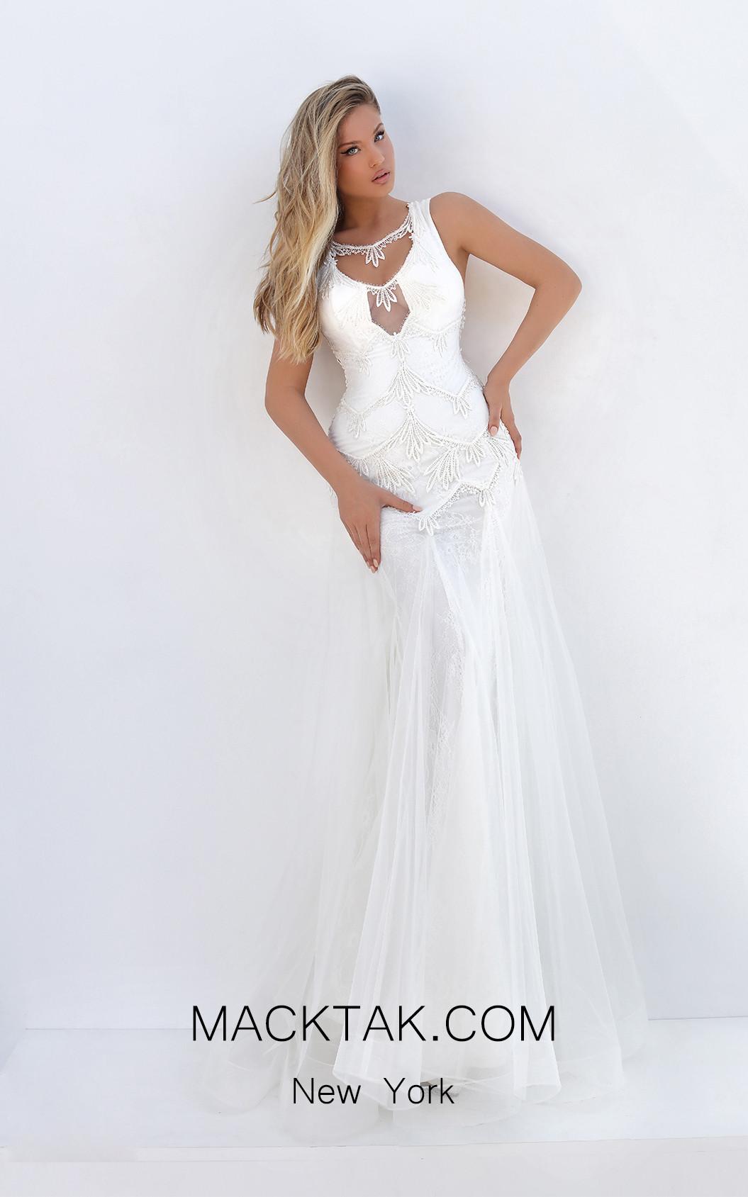 Tarik Ediz 50738 Front Dress