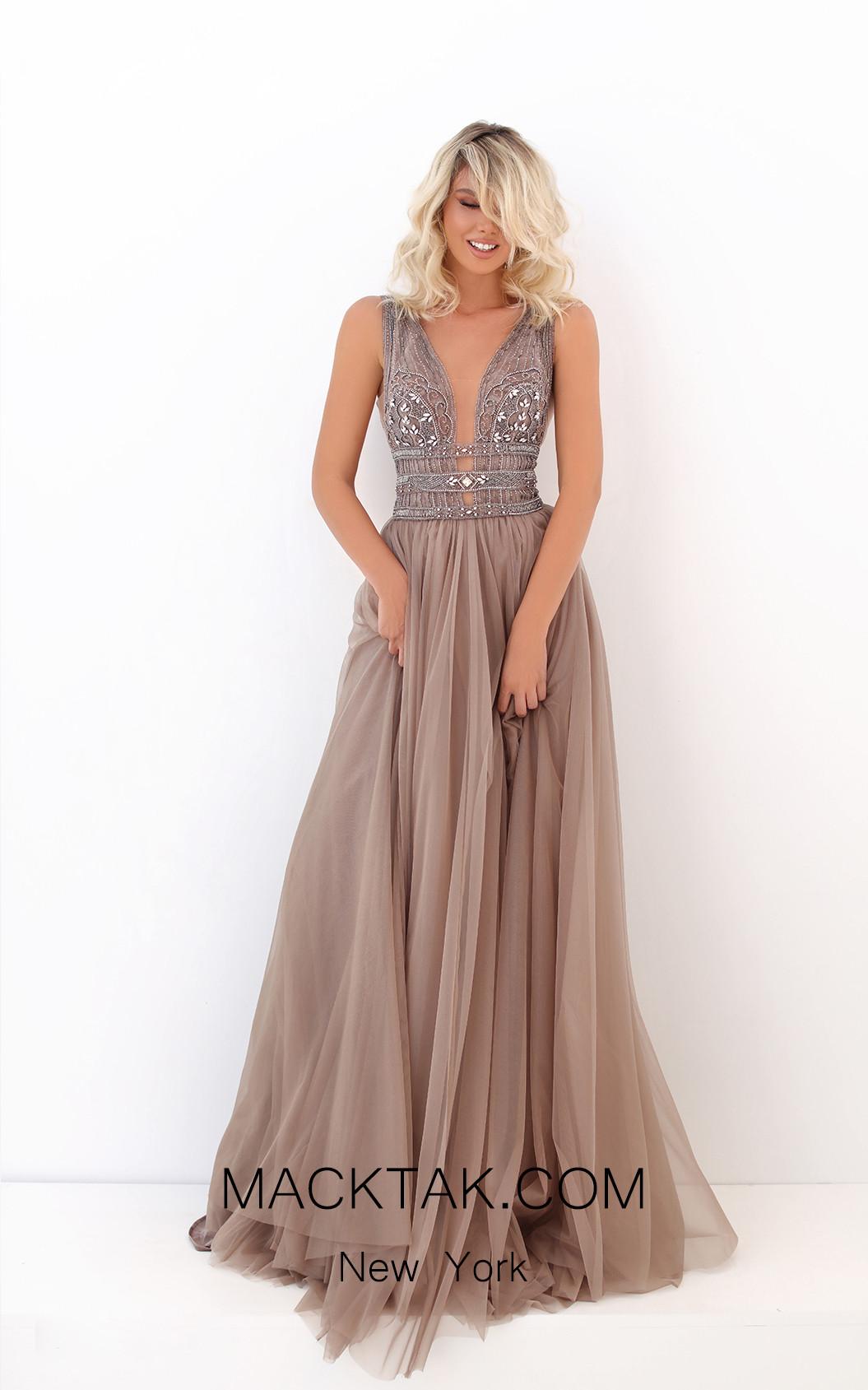 Tarik Ediz 50740 Front Dress