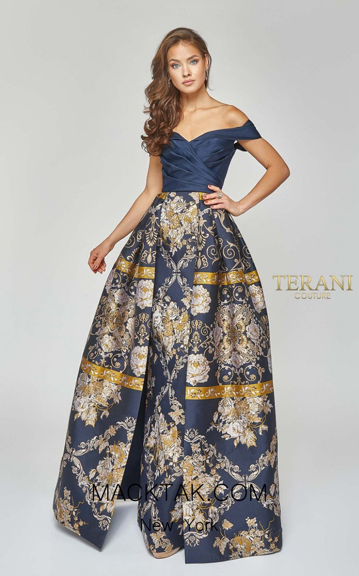 Terani Couture 1921E0111 Front Dress