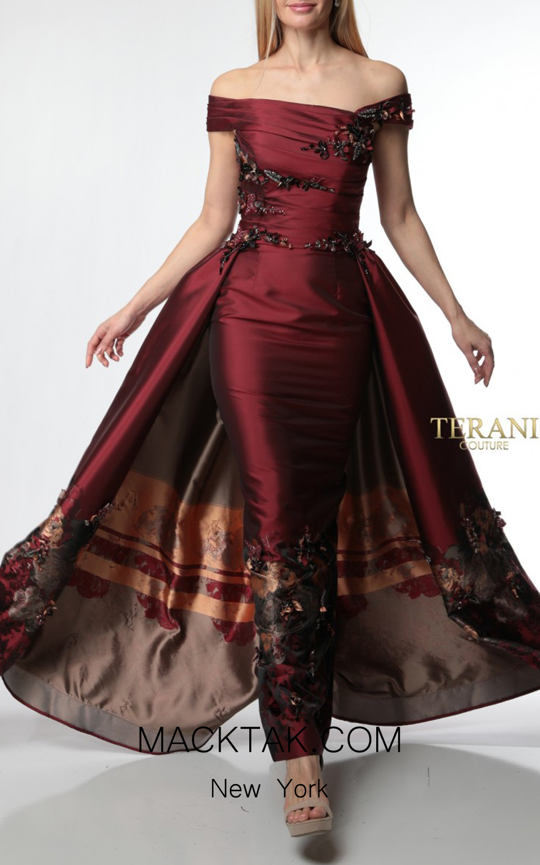 Terani Couture 1921M0499 Front Dress