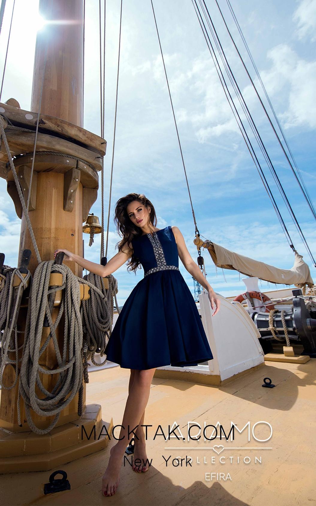 Ariamo Efira Front Dress