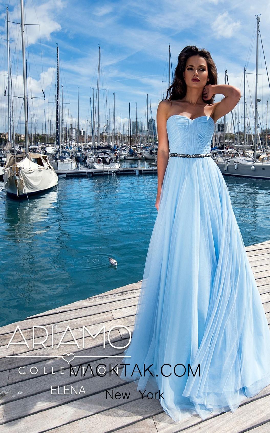 Ariamo Elena Front Dress